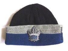 TORONTO MAPLE LEAFS Reebok FISHERMANS Beanie Toque Hat Ice Hockey NHL Canada