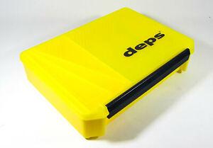Deps 3020 NDDM Tackle Lure Box Case Original 255 x 190 x 60 mm Yllw (4111)
