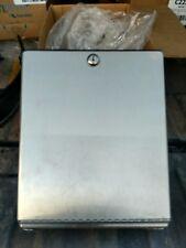 Wow! Stainless steel Bobrick Paper Towel Dispenser