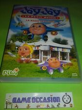 JAY JAY LE PETIT AIRPLANE THE MAGIC OF BOOKS DVD FRENCH VERSION