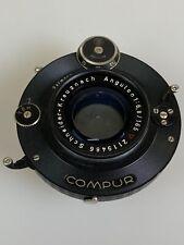 Rare Schneider Angulon 165mm f6.8
