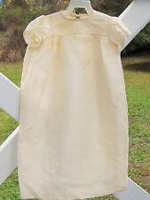 BEAUTIFUL ANTIQUE SILK CHRISTENING GOWN DRESS BOY GIRL OR DOLL