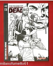 The Walking Dead n.43 Ed. Saldapress 2016 Variant Cover ADLARD