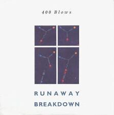 "400 Blows Runaway / Breakdown 12"" Mint Uk Import electronic 1985 Synth Pop"