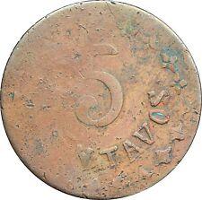 Mexico Revolution 5 Centavos Durango 1914, KM# 631 / Like GB 124 but Copper.