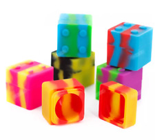 Silicone Cube Jars 11ml - 13 Count