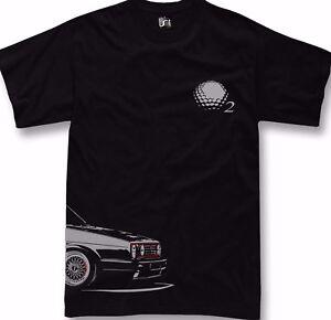 T-Shirt for golf gti fans mk2 gti 16v classic car tshirt + sweatshirt