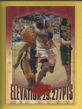 Michael Jordan 1999 Upper Deck Athlete of Century Card # EL10 Chicago Bulls HOF