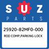 25920-82MF0-000 Suzuki Rod comp,parking lock 2592082MF0000, New Genuine OEM Part