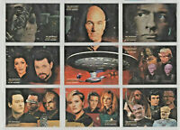 Star Trek TNG Quotable - Space: Final Frontier - Chase Card SET (9) - NM
