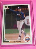 1991 Upper Deck #755 Jeff Bagwell Astros ROOKIE RC HOF MINT+ Perfect! Gem?