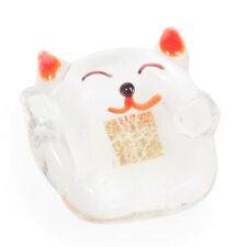 Miniature Crystal Japanese Lucky Cat
