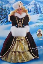 Barbie, Happy Holidays Barbie Doll 1996 -Mattel 15646