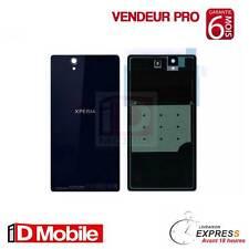 Vitre arrière Sony Xperia Z L36h  noir + Adhésif ***EMBALLAGE SECURISE SUIVI***