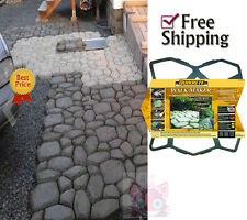 Paving Walk Way Pathmate Stone Mold Pavement Concrete Mould Stepping Stone Paver