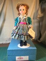 "Madame Alexander Eliza 14"" Doll 1544 Only 1991 Classic Series Red Hair"