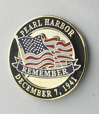 PEARL HARBOR DECEMBER 7 1941 USA HAWAII MEMORIAL LAPEL PIN BADGE 1 INCH