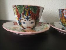 More details for baci milan coffee cup & saucer set tea/ expresso