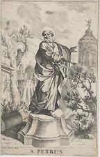 Gravure ancienne, XVIIIe. Goetz, kupferstich, engraving, incisione, 18th.