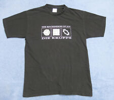 DIE KRUPPS T-Shirt Größe M The Machineries of Joy FRONT 242 Laibach KMFDM RAR