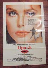 1976 Lipstick 1-Sh Original Movie Poster 27x41 FN- Margaux Hemingway