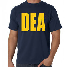 DEA Drug Enforcement Agency Movie TV Inspired Drugs Breaking Bad Blue T-Shirt