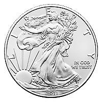Lot of 10 x 1 oz Random Year American Eagle Silver Coin