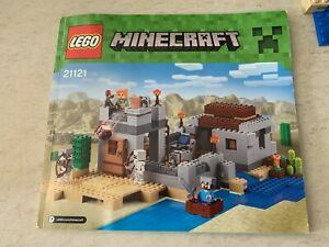 Lego 21121 Minecraft The Desert Outpost With instructions