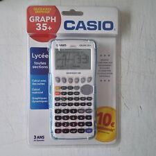 Calculatrice scientifique Casio Graph 35+ USB neuve sous blister