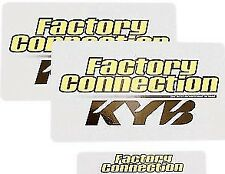 FACTORY CONNECTION KYB SUSPENSION FORK DECAL  STICKERS