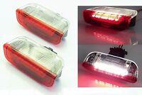 2x Tür Einstiegsbeleuchtung Beleuchtung Leuchte Licht Lampe weiß / rot VW Vorn