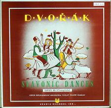 URANIA Dvorak TALICH Slavonic Dances URLP-7076