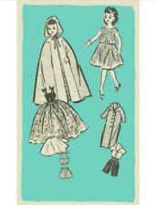 "Pattern for 18"" Miss Revlon Fashion Doll Pattern #4667"