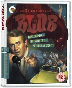 The Blob (1958) Criterion Collection Blu Ray Region B Inc Registered Post