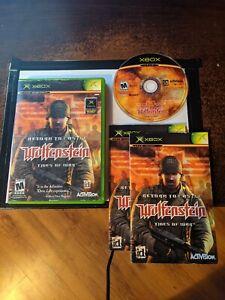 Wolfenstein - Return to Castle (Microsoft Xbox, 2003) CIB
