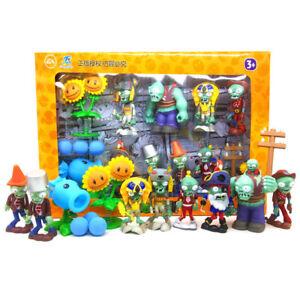 Plants vs Zombies Kids Children Gift Game Action Figure Sets Anime Handmade Toys