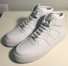 Brand-new Maison Margiela Men's White High-top Leather Sneakers in US 11