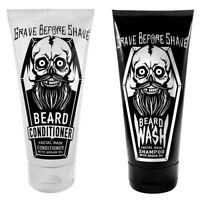 GRAVE BEFORE SHAVE - Beard Wash, Conditioner, or Bundle (4oz./ea) Free Shipping