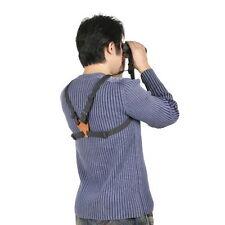 New Binocular Harness Strap Belt with Leather Camera Binocular Range Finder V_e