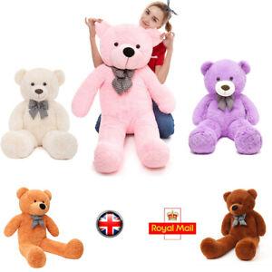 Plush Toys Large Teddy Bear Giant Big Soft Birthday Gift Girls Boys 60-140 Kids