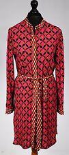Zara Summer Shirt Dress Cerise Pink Size 10 SIMPLY STUNNING #722