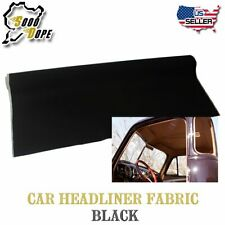 Headlining Fabric Upholstery Car Interior Top Roof Decorate Back Foam 5FT x 5FT
