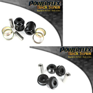 For BMW X6 F16 15-ON Powerflex BLACK Front to Chassis Bushes PFF5-2401/2402BLK