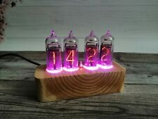 Nixie Tube Clock IN-14 Vintage Retro