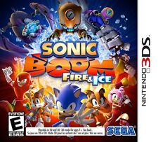 NEW Sonic Boom: Fire & Ice -- Launch Edition (Nintendo 3DS, 2016)
