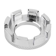 Mini Cycle Spoke Nipple Key Bike Wheel Rim 8 Way Wrench Spanner Repair Tool GA