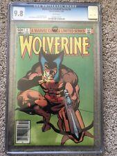 CGC 9.8 Wolverine 4 - Limited Series UPC