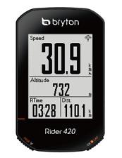 Bryton Rider 420E Computer GPS Ciclismo Nero BR420E