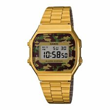 CASIO Vintage Retro Gold A168WEGC-3 Illuminator Alarm Classic 7 Years Battery @