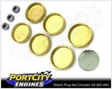 Welch Welsh Brass Core Plug Kit Set Chrysler V8 BB 383 400 413 426 440 WPK-C440